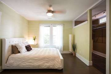 Bedroom #1 with Comfy Mattress and High Quality Linens