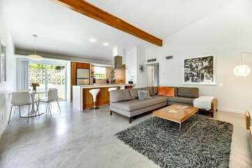 Enjoy the Light Filled Living Areas with Cathedral Ceilings and Large Windows.