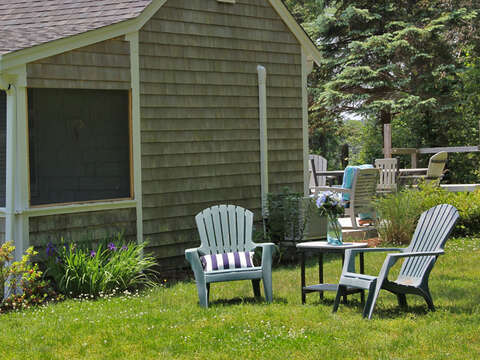 Enjoy outdoor living - 425 Paines Creek Brewster Cape Cod - New England Vacation Rentals