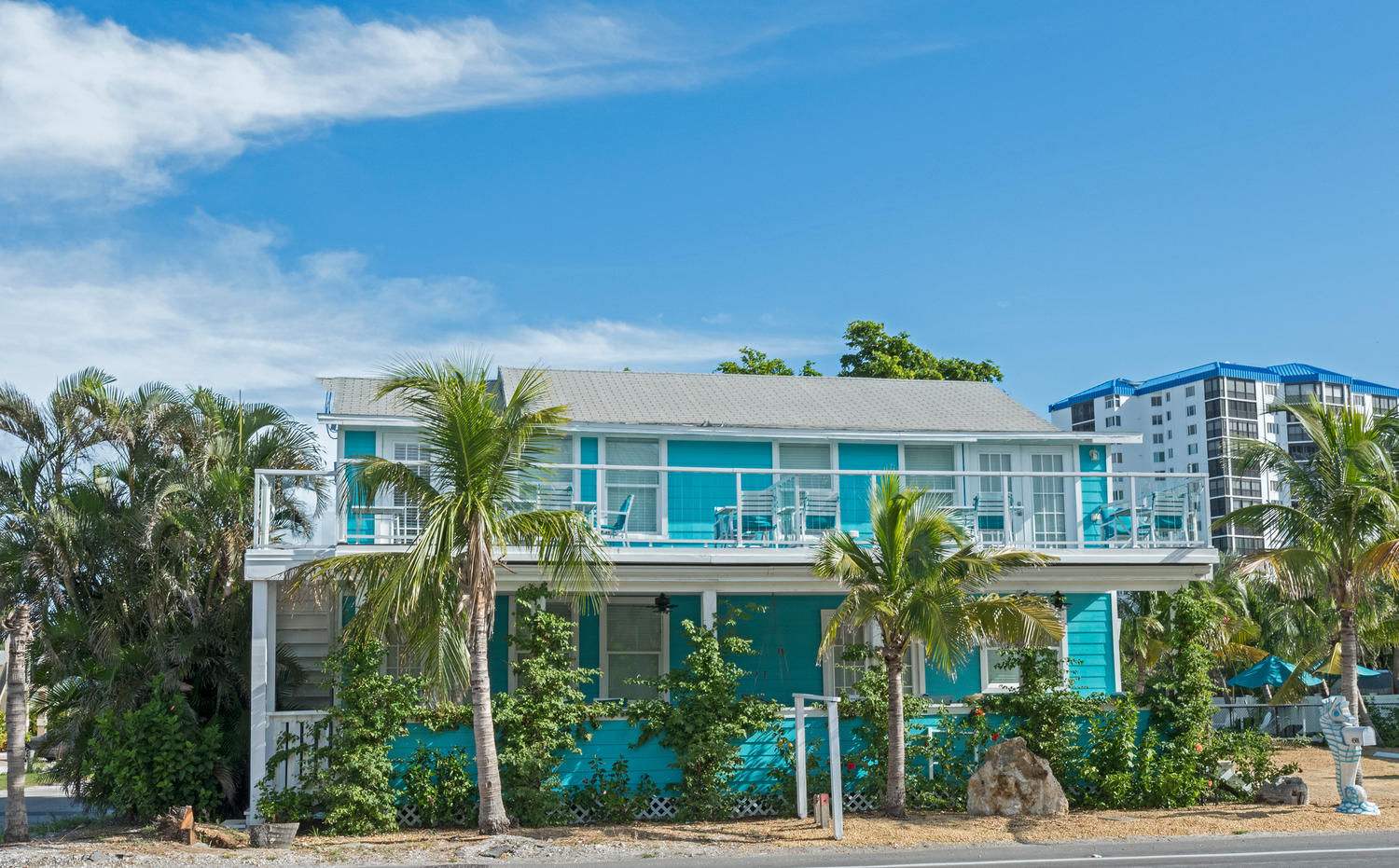 MAIN BUILDING, WE ARE JUST ACROSS THE STREET FROM THE BEACH!