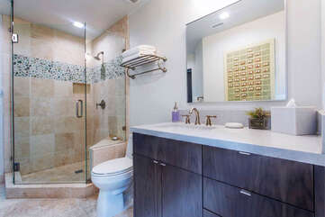 5th Bathroom attached to entertainment room