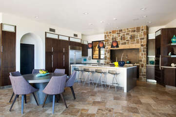 Large kitchen. Perfect for making gourmet meals.