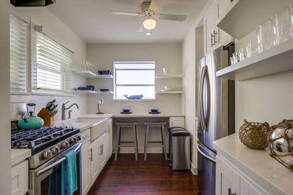 Apartment Kitchen - Second Floor