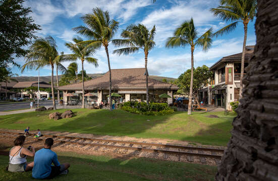 Grab a Coffee or Ice Cream at the KO Olina Station