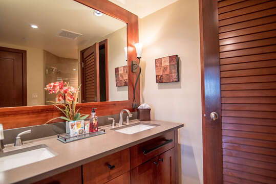 Alternate View of Master Bath with Dual Sinks