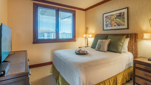 Second Bedroom with Queen Bed in our Ko Olina Condo on  Hawaii