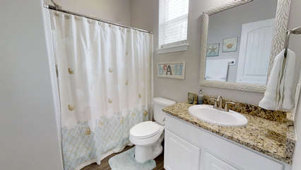 Second Floor Full Bath in LIving Space