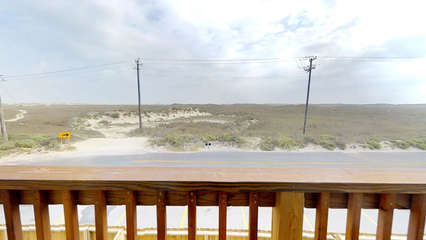 View from 2nd Story Upstairs Balcony