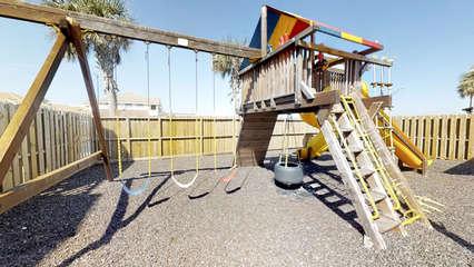 Kids Playground next to Swimming Pool