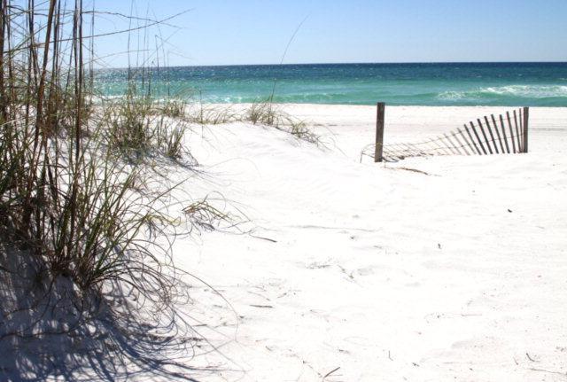 Soft White Sand Feels Great on Bare Feet