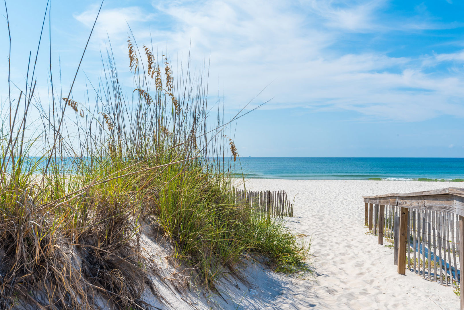Walk Down to the Beach from our Fort Morgan, Alabama Vacation Home