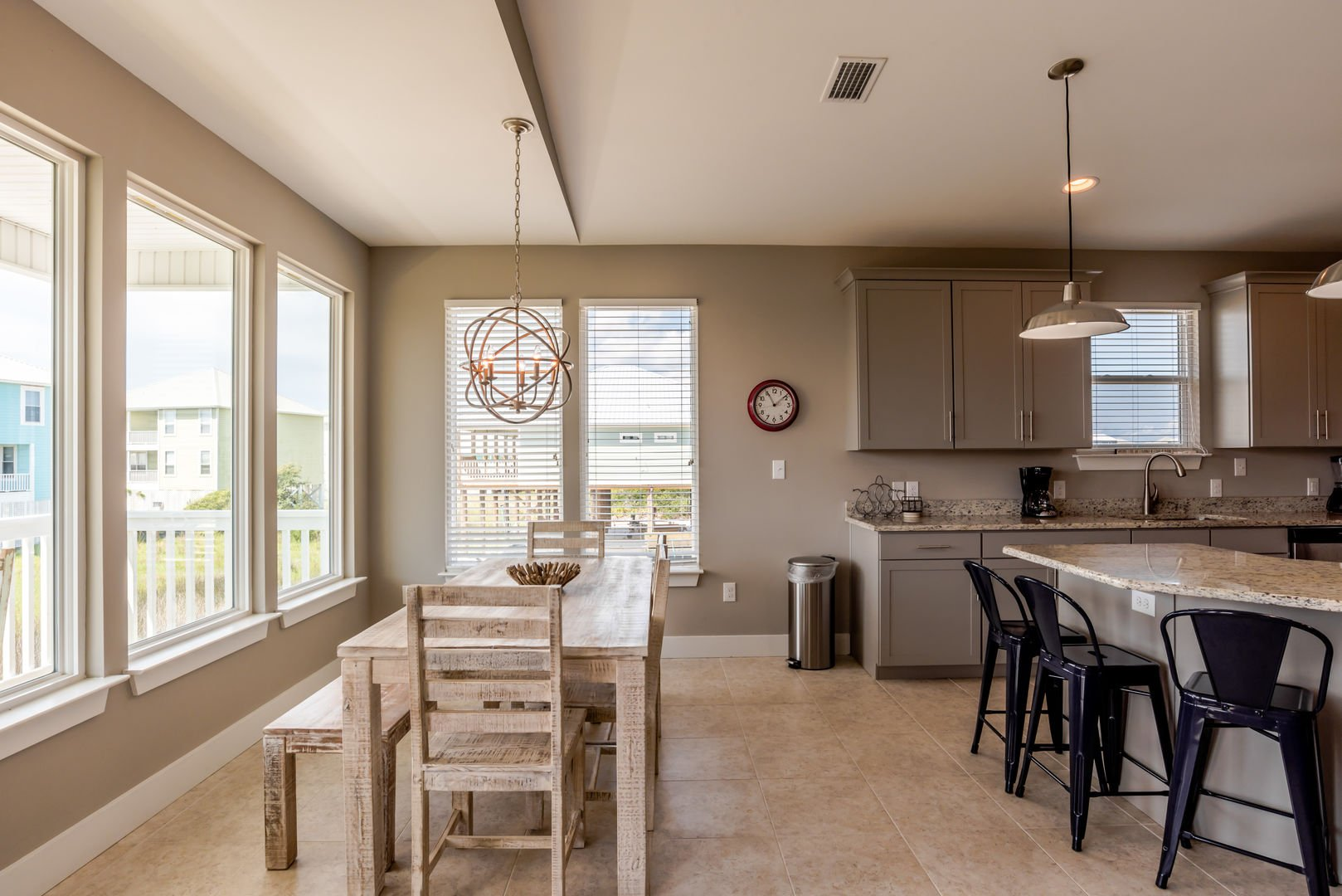 Dining Area in our Fort Morgan, Alabama Vacation Home Seats 6