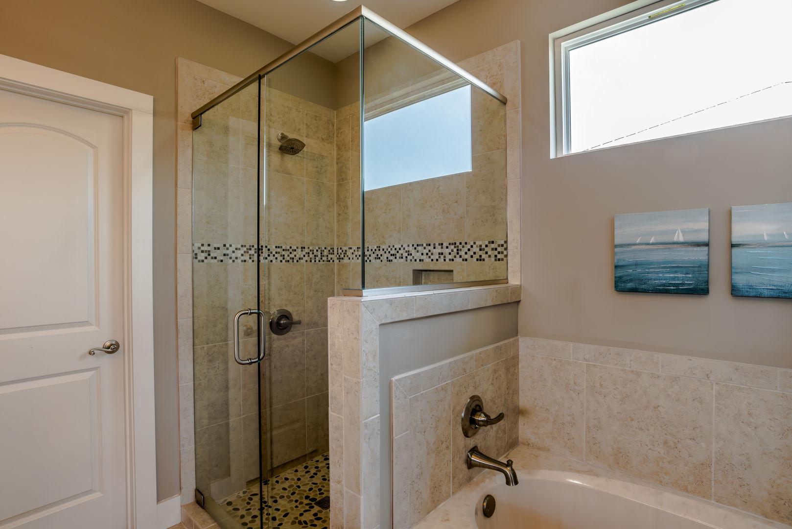 Master Bathroom Has a Separate Shower & Tub