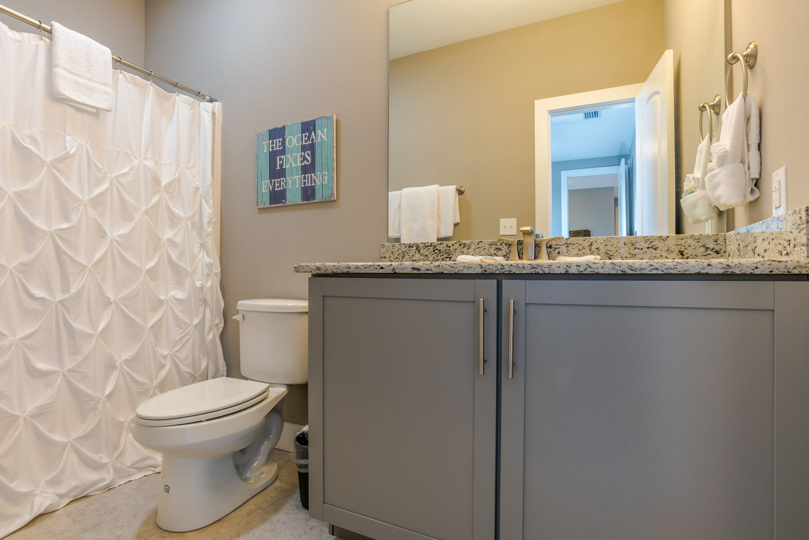 Second Guest Bathroom in our Fort Morgan, Alabama Vacation Home