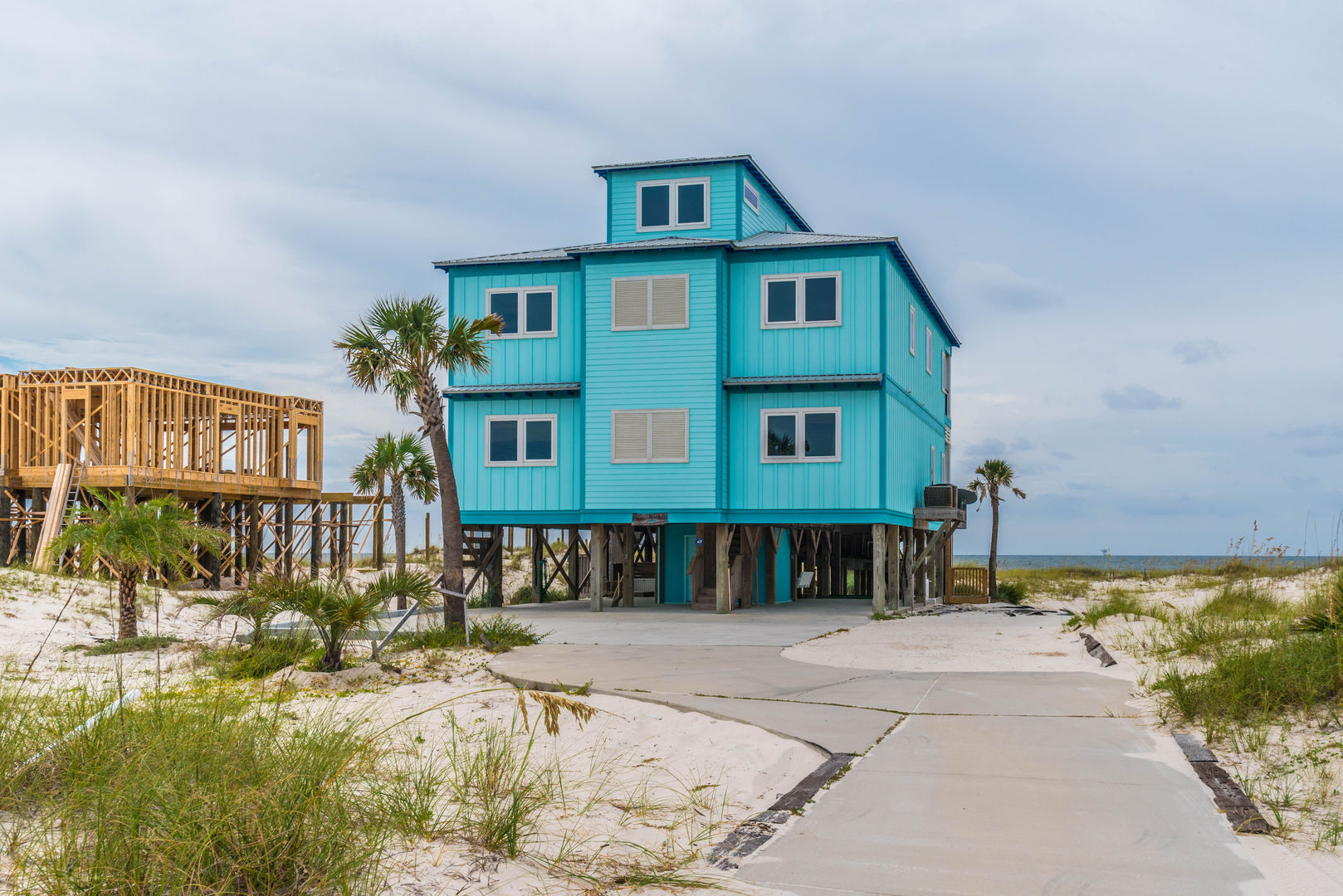 Exterior View of our Fort Morgan, AL Vacation Rental