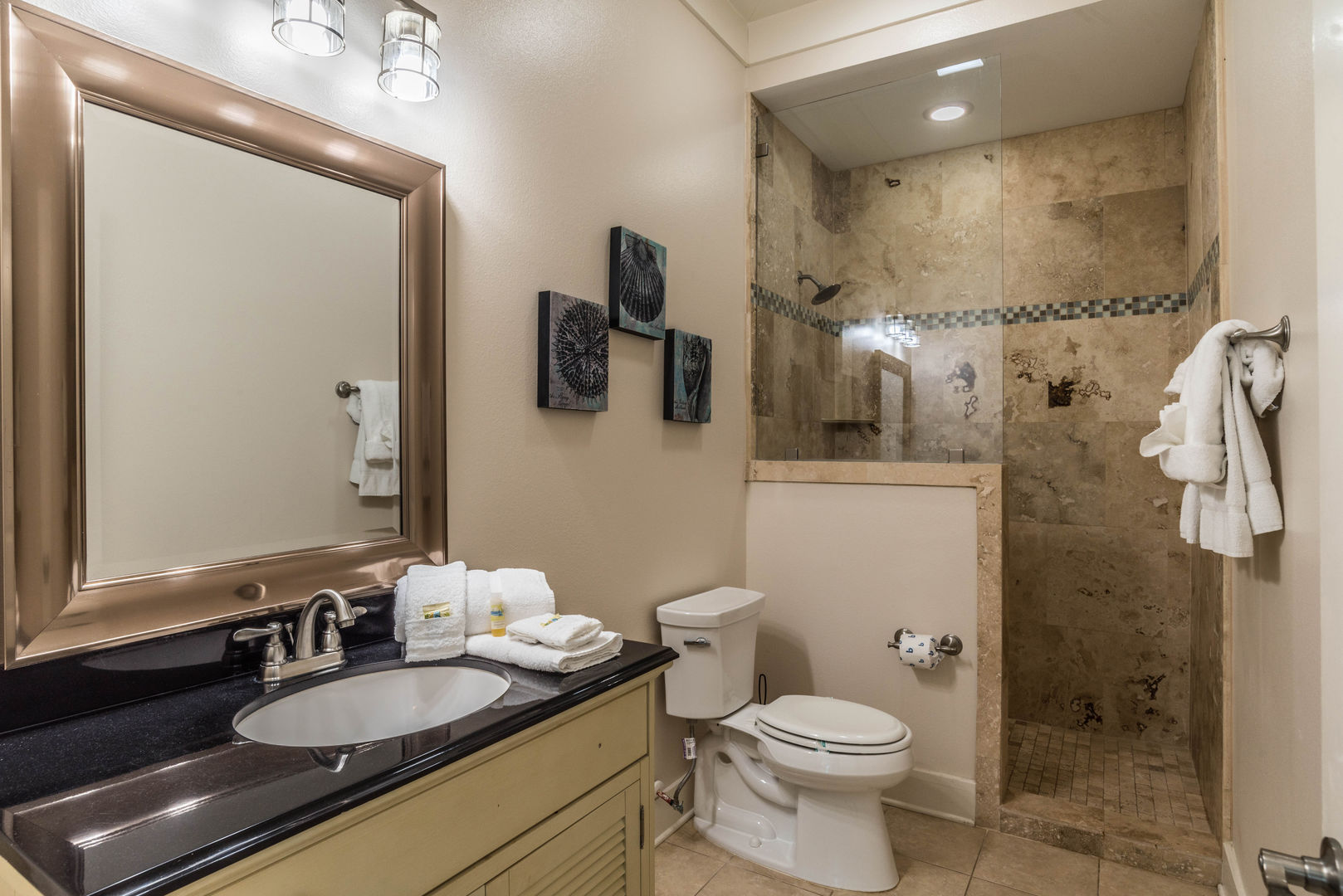 Additional Guest Bathroom in our Fort Morgan, AL Vacation Rental