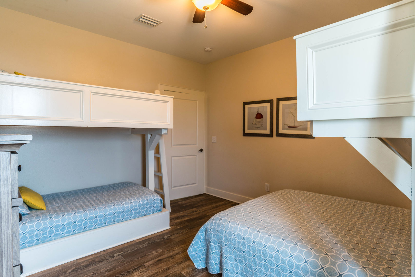 Two Sets of Bunk Beds in This Additional Sleeping Room