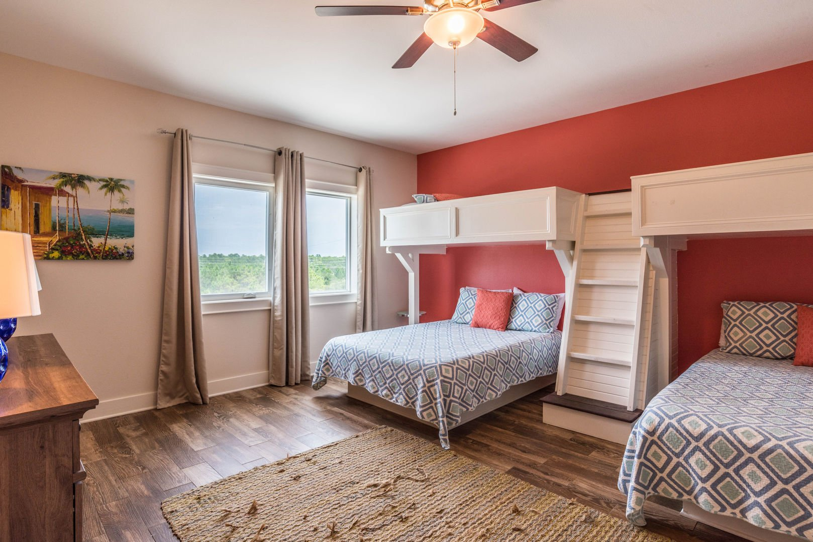 Guest Room with Unique Beds