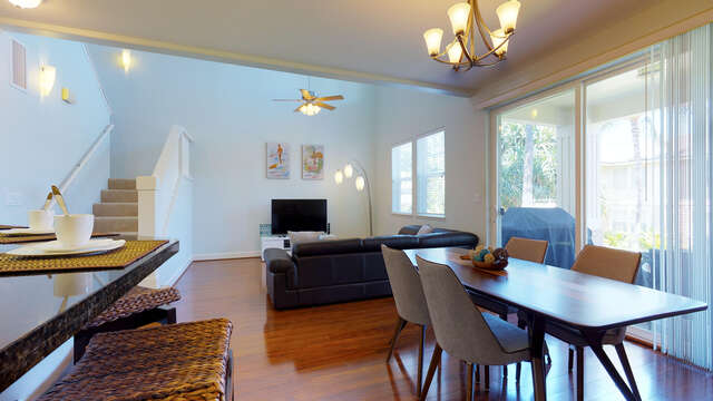 Open Dining and Living Area in our Ko Olina Kai Vacation Rental