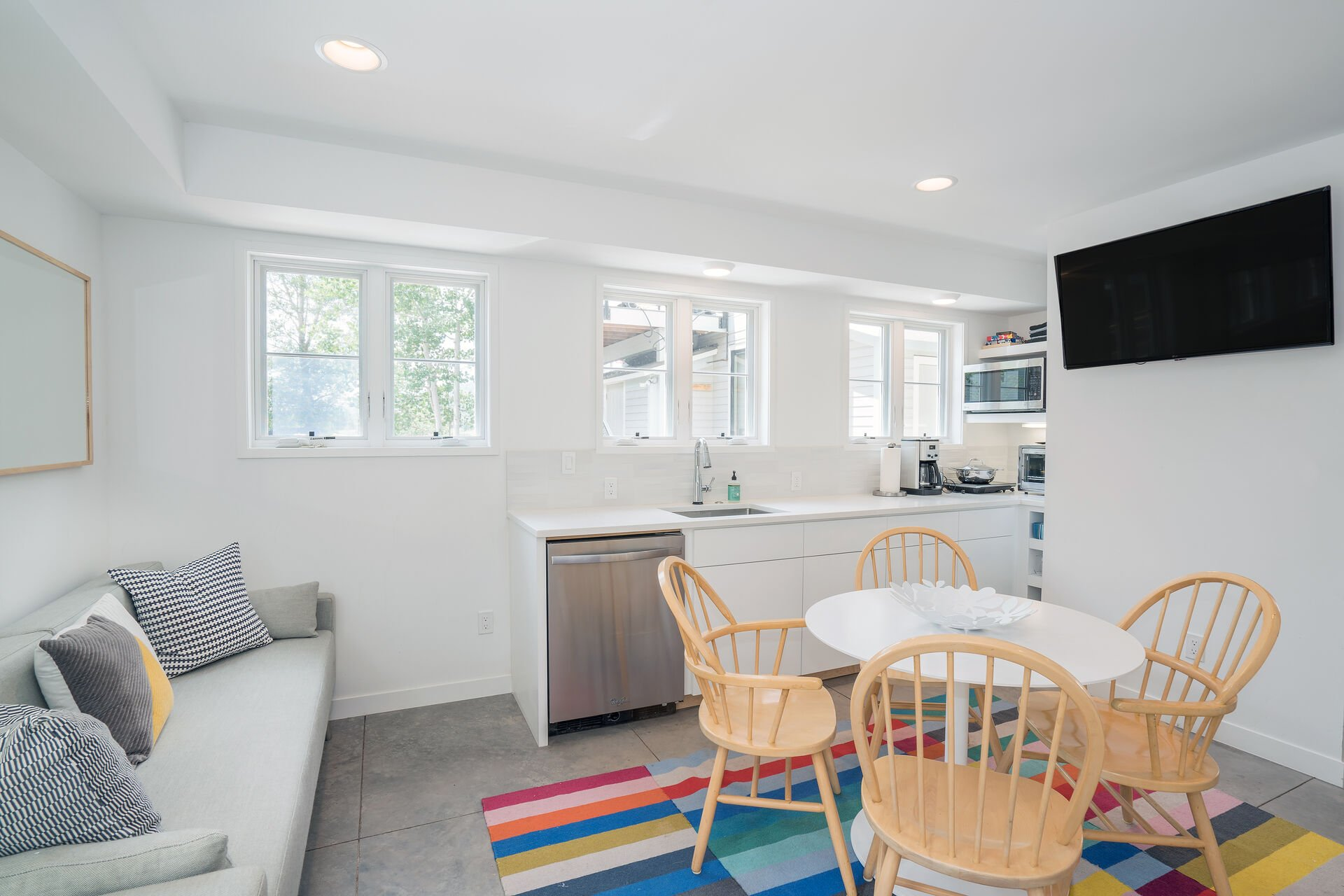 Guest Suite with Kitchen and Dining Area at Bachman Village #13