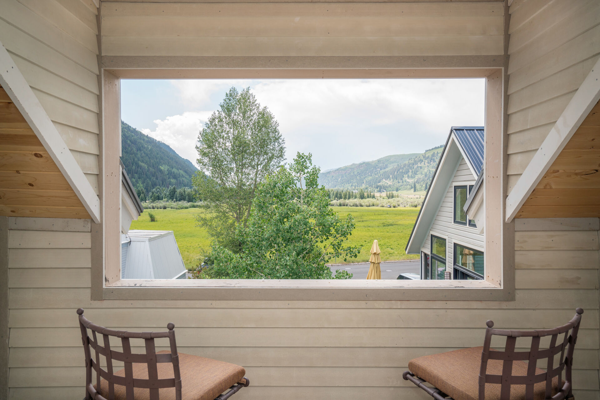 Views of the Valley and Mountains in Telluride from Vacation Home in Telluride