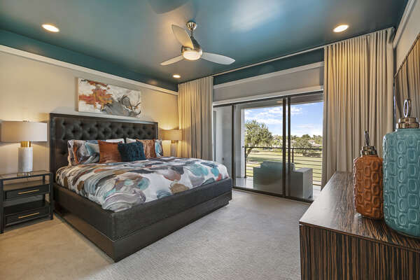 Master Suite 6 has balcony access as well