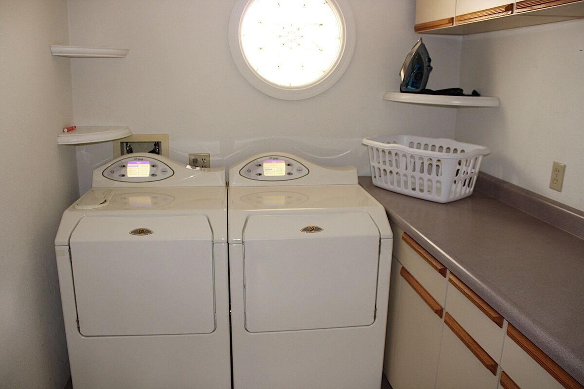 (And there's a laundry room to dry the wet suits in!)