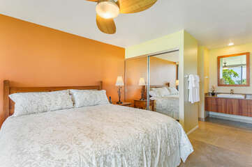 Comfortable Bed in Bedroom at the Country Club Villas 120