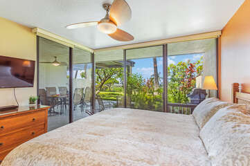 Gorgeous Views from our Kona Vacation Villa Bedroom