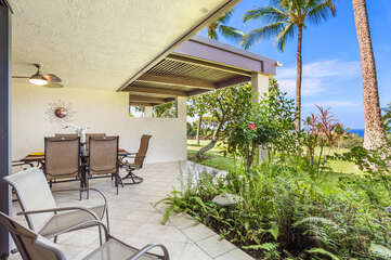 Gorgeous Views from the Lanai at Country Club Villas 120