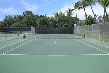 2 Tennis Courts On-Site