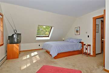 Upper Level - Master Bedroom