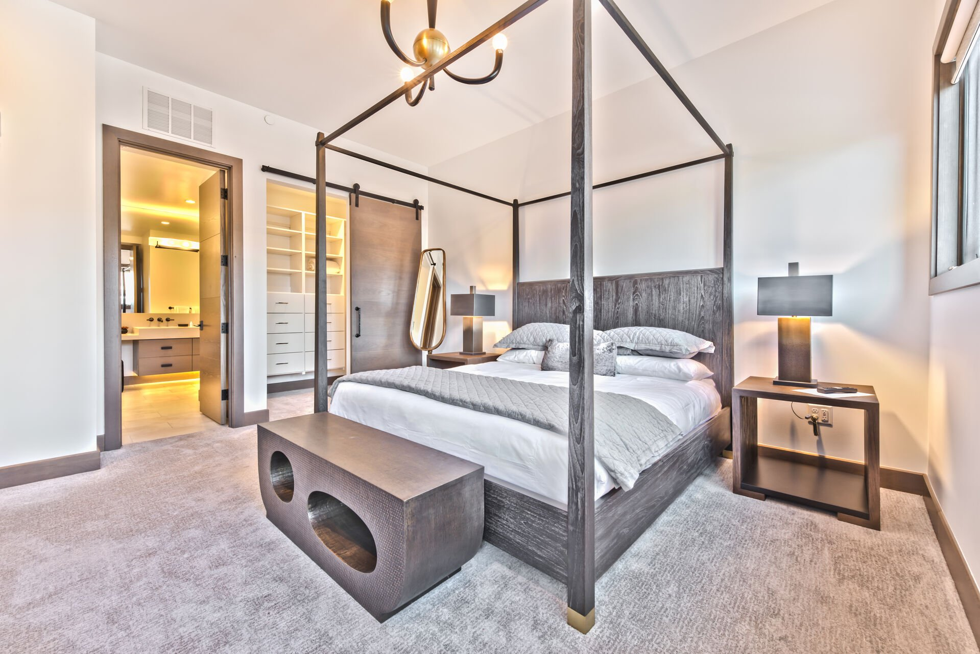 Master Bedroom and Private Bath