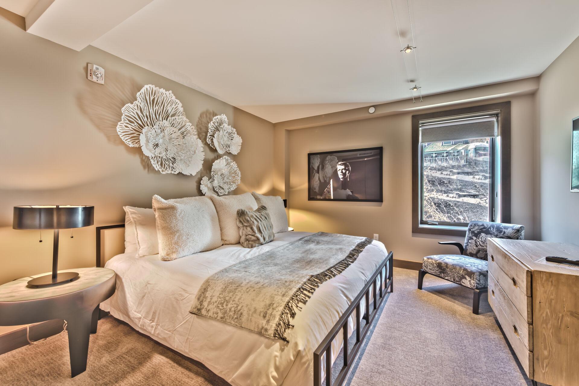 Upper Level Master Bedroom 3 with Queen Bed, 50