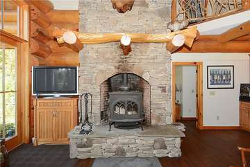 Main Level - Fire Place