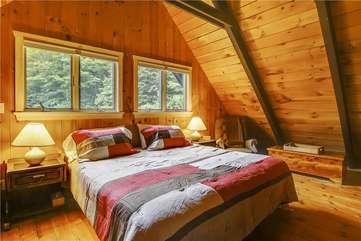 Westside Upper level bedroom