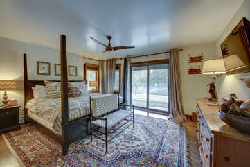 Spacious Bedroom on the lower level