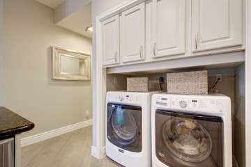 Brand new washer and dryer! Soap provided, too!!