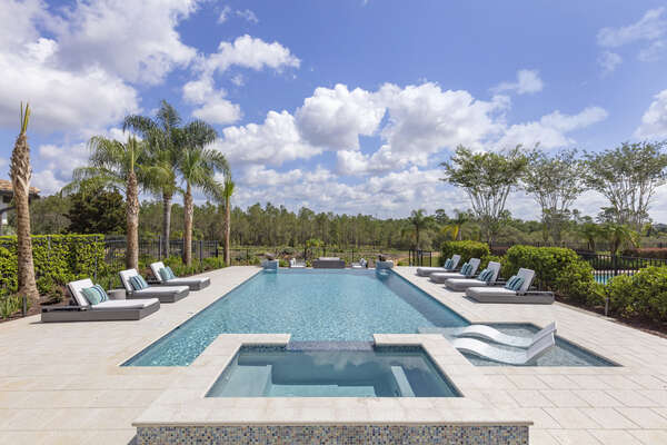 Soak up some sun with your family at this beautiful pool