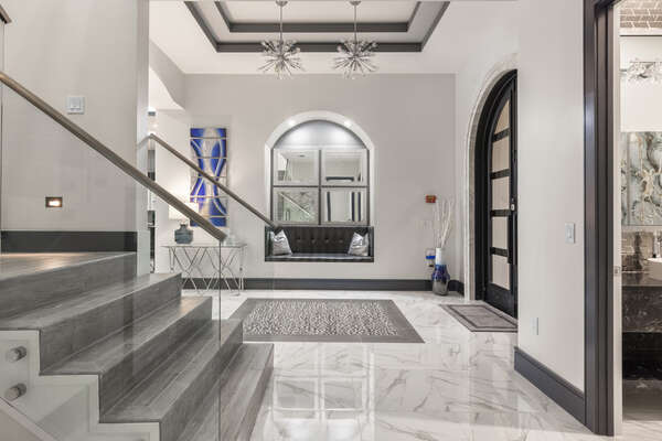 Luxury decoration and attention to detail throughout