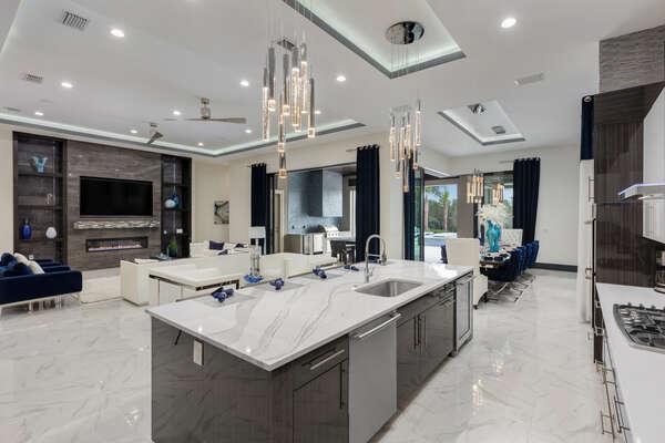 Great kitchen views