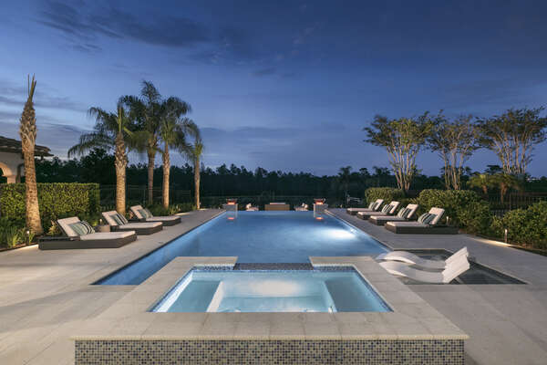 The perfect place to relax and unwind after a long day experiencing Orlando`s best attractions