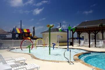 Kids Splash Pool and Playground