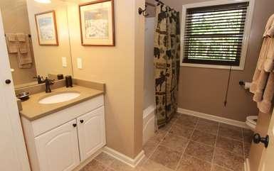 Full bathroom-lower level