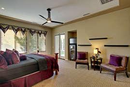 Master bedroom full view