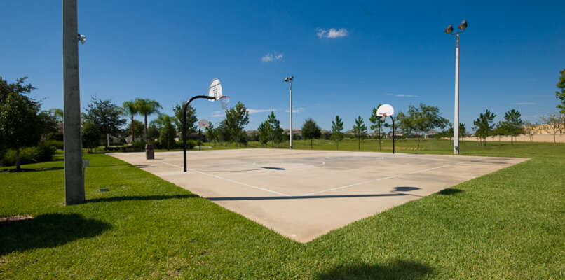 On-site facilities:- Basketball courts