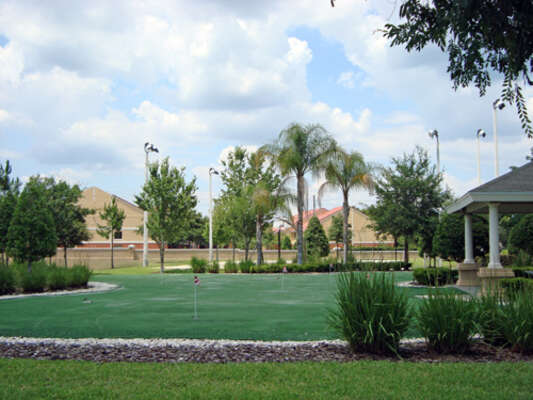 On-site facilities:- Putting green