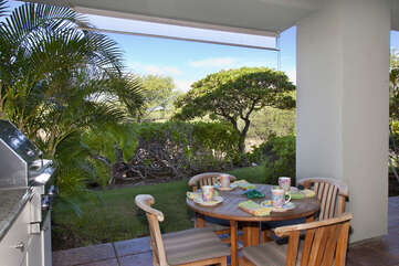 Lanai with Private BBQ, and Outdoor Dining Table