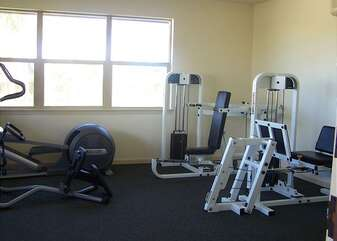 Gym Equipment in the Complex Fitness Center