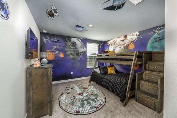 Upstairs Star Wars Bedroom Six